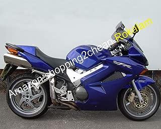 Sports Bike Bodywork Kits For VFR800 2002-2012 VFR 800 02-12 Blue Aftermarket Motorbike Fairing Kit (Injection molding)