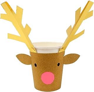 meri meri reindeer cups