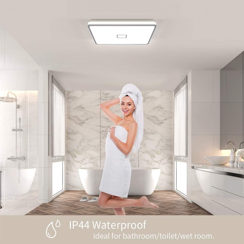 Bad Deckenleuchte Badezimmer Lampe Airand 20W Deckenlampe IP20 ...