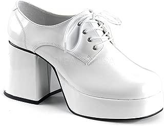 white pimp shoes