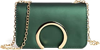 Fashion New Exquisite Beautiful Trendy Casual Fashion Portable Slung Shoulder Small Handbag (Color : Green)