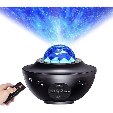 Lumi/ère Projecteur Connect/ée WI-FI Simulation des nuages 10 Modes Musicale Commande Fonctionne avec Google Home Alexa pour D/écoration des Chambres//Enfants//F/ête//Cadeau Lampe Projecteur LED