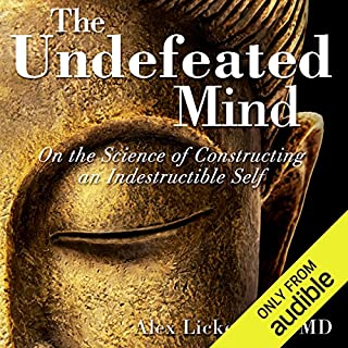 The Undefeated Mind audiobook cover art
