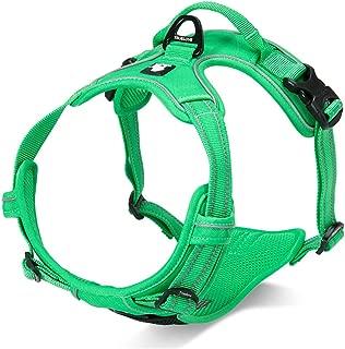 SGODA Dog Harness Reflective Pet Vest Harness with Handle