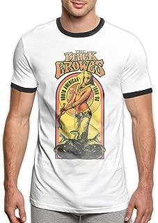 The Black Crowes 100% Cotton Ringer T-Shirt Men's Music Ringer T-Shirt Black