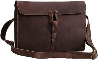 Genuine Leather Crossbody Bag Vintage Cowhide Baseball Glove Leather Sport Bag Shoulder Bag For Women