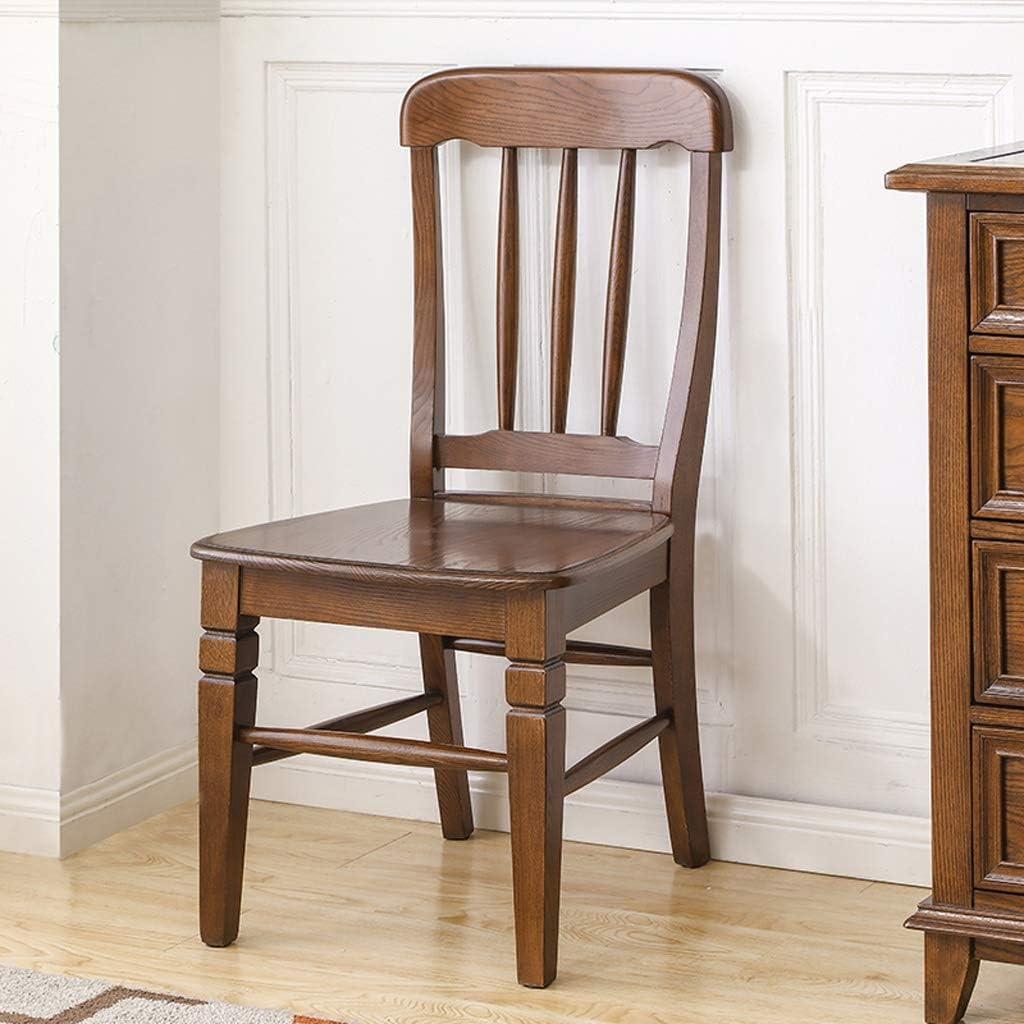 Président WGZ- Chaise de Salle, Chaise de Bureau Simple, créative Dossier, Chaise Loisirs, Maison Adulte Chaise de Salle Simple (Color : E) E