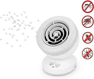 Zeerkeers Lámpara Antimosquitos Electrico,Lámpara de Mata Mosquitos Moscas Electrico Fotocatalizador, 360° LED Insectos Trampa Lámparade para El Hogar, La Oficina, Cocinas