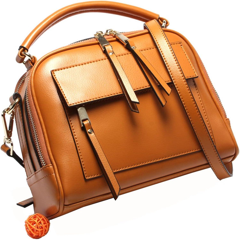 AFCITY AFCITY AFCITY Damen Handtasche Kosmetiktasche Damen-Reißverschluss-Leder-Einkaufstasche-Mode-zufälliger Pendler-Schulter-Diagonalhandbag Shopper Tasche B07K7M3J24 1cae70