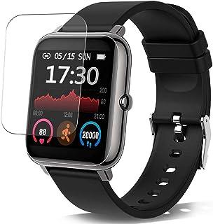 Vaxson 3-pack skärmskydd, kompatibel med Donerton X11 1,4 tum Smartwatch Smart Watch, TPU Guard Film skydd klistermärke [I...