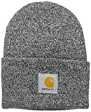 Carhartt Men's Knit Cuffed Beanie, Black/White, One Size
