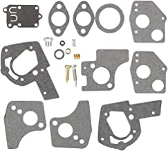 Venseri 495606 494624 Carburetor Overhaul Repair Rebuild Kit fits Briggs & Stratton Pulsa Jet Carb 80200 81200 82200 3 Thru 5 HP Horizontal Engines