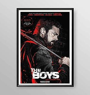"Poster incorniciato -""The Boys"" serie tv - Artyexpress Made in Italy"
