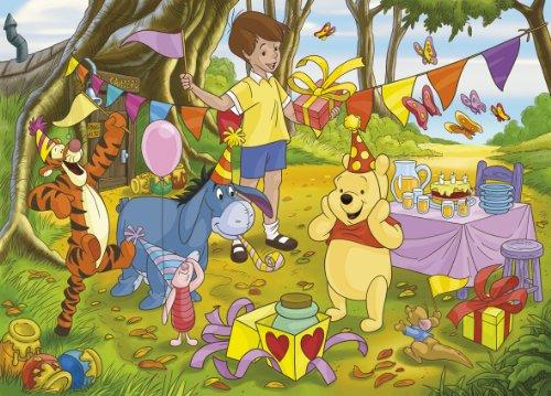 Clementoni 25170.4 - Puzzles de 48 Piezas, Tres diseños de Winnie The Pooh