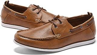 GM GOLAIMAN Men's Dress Shoes Slip On Modern Moc Toe Tassel Driving Shoe Work Loafer