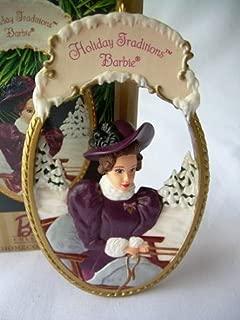 Hallmark Holiday Traditions Ornament Barbie 1997