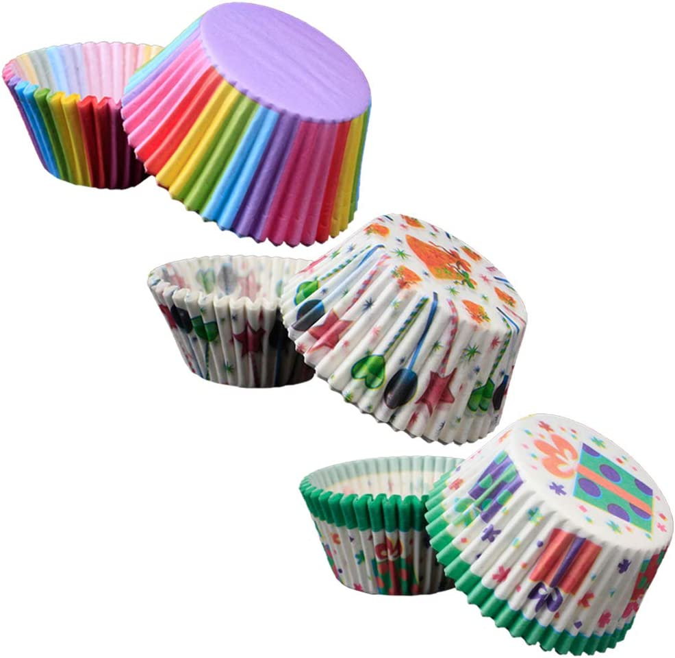FUNZZY Grease Outstanding Proof Cupcakes Holders Cups Heat-Resistant Du Cake Max 82% OFF