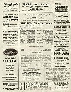 Vivien Leigh - Program Signed Circa 1946