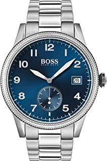 Hugo Boss Mens Quartz Watch, Chronograph Display and Stainless Steel Strap 1513707
