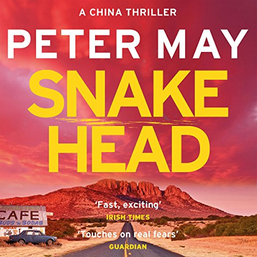 Snakehead audiobook cover art