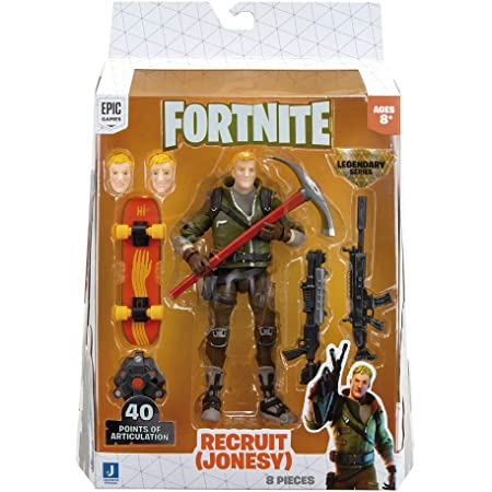 "Fortnite FNT0655 6"" Legendary Series Figure Pack-Recruit-Jonesy"