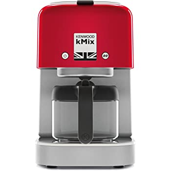 Kenwood kMix Independiente, Cafetera de filtro, 750 ml, De café molido, 1000 W, Rojo (Spicy Red): Amazon.es: Hogar