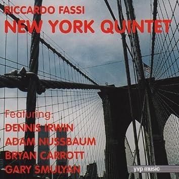 Riccardo Fassi New York Quintet
