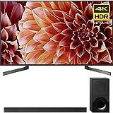 Sony 65-Inch 4K Ultra HD Smart LED TV 2018 Model (XBR65X900F) 2.1ch Soundbar with Dolby Atmos (Electronics)