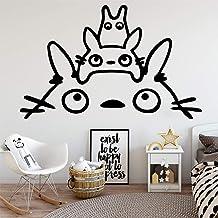 YuanMinglu Anime Cat Wallpaper decoración del hogar Pegatinas de Pared bebé niños decoración de la habitación Pegatinas de Pared 45x70 cm