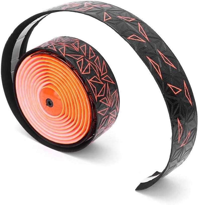 Alomejor Bike Grips Tape Wrap Road Bike Cork Handlebar Wrap High Elastic Bicycle Handle Bar Tape Bandage Belt
