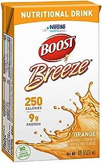 Boost Breeze Nutritional Drink, Orange, 8 fl oz Box, 27 Pack