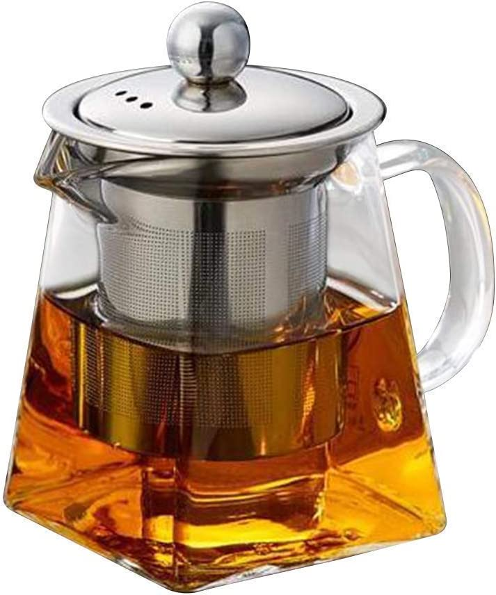 Sales for sale HUAXUE Teapot Japanese, Today's only Stainless Strainer Infuser Steel He