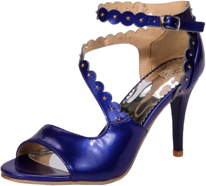 RizaBina Women Ankle Strap Sandals shoes