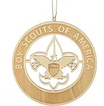 Kurt Adler Wood Laser Cut BSA Ornament