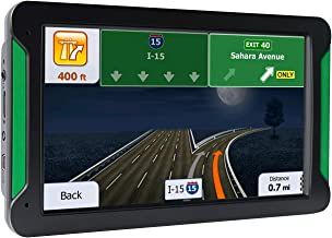 GPS Navigation for Car, 7 Inch 8GB HD Touch Screen Car GPS Navigation System Vehicle GPS Navigator with Lifetime Maps(Green Side)