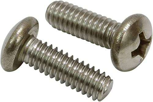 Slotted Drive 18-8 Steel Pan Head Machine Screw #4-40 Thread Size Pack of 5000 5//16 Length Imported Fully Threaded Meets ASME B18.6.3