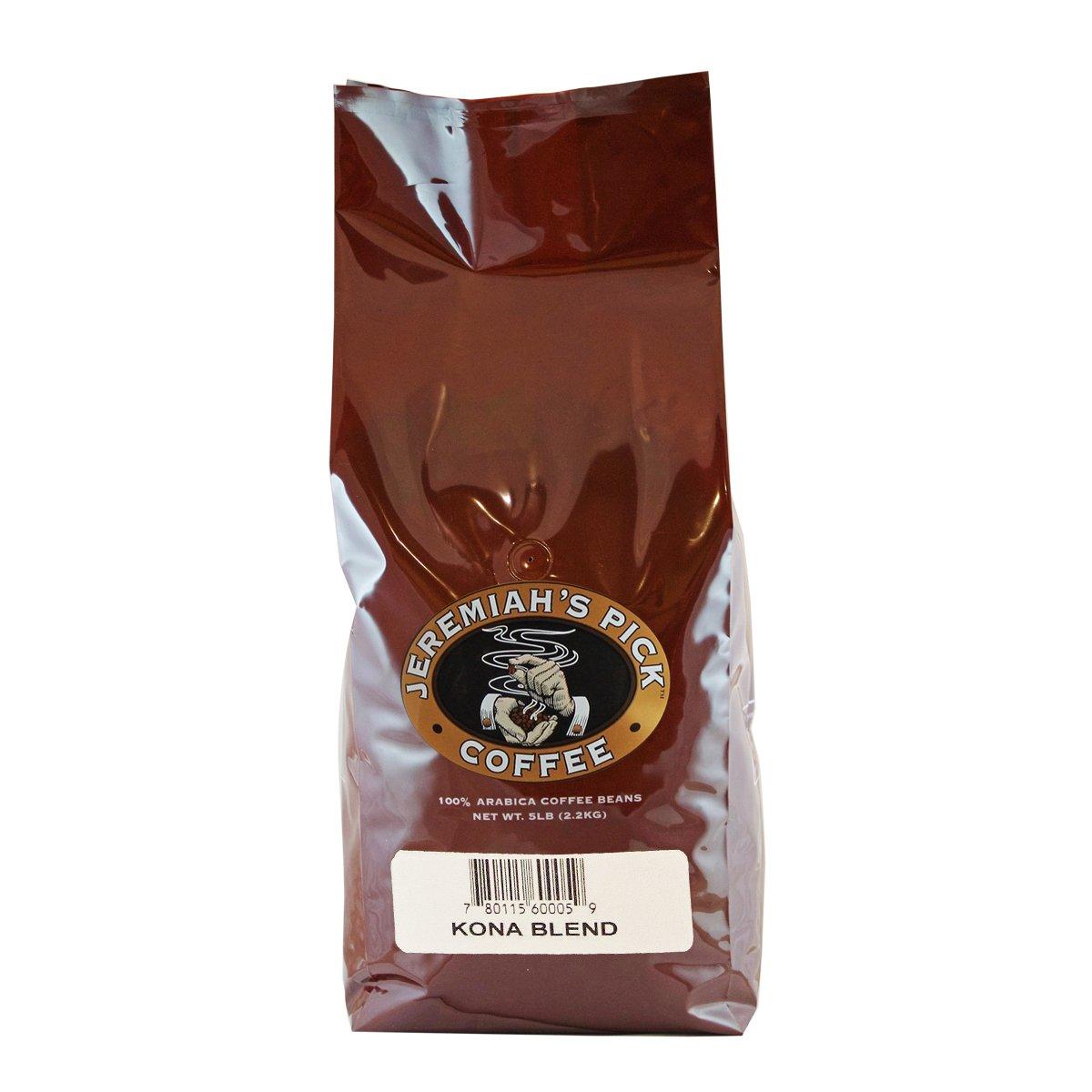 Jeremiah's Pick Coffee Kona Blend Ba Las Vegas Mall 5-Pound Bean Whole Ranking TOP8