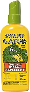 HARRIS Swamp Gator Mosquito Insect Repellent Deet Free Spray - Long Lasting, Pleasant Scent, Non-Greasy