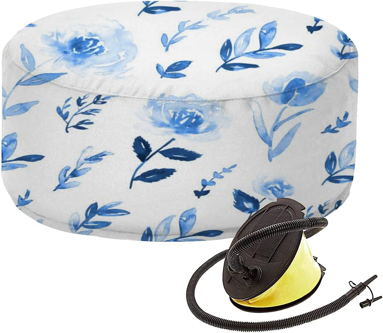 Indoor New Shipping Free Shipping Outdoor Inflatable Ottoman Ditsy Shades Phoenix Mall Print in Floral