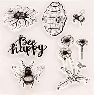 stampin up bee stamp