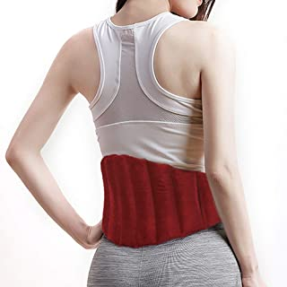 Aroma Season Heating Pad for Lower Back Pain Relief, Microwavable Moist Heat Wrap for Menstural Cramps