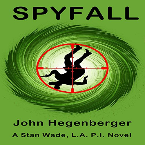 Spyfall audiobook cover art