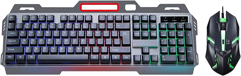 FLSDPB Metal Luminous Mechanical Keyboard Wired Chicago Mall G Long Beach Mall Interface USB