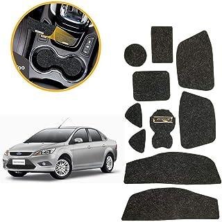 Kit de 10 peças, Jogo de Tapetes Focus 2009/2010/2011/2012/2013 Porta Objetos Copo Titanium Tapetes Automotivos KF0404 Gra...
