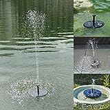 pegtopone Bomba solar para pajarera, piscina, miniatura, panel solar, kit de fuente de agua para el estanque de jardín al aire libre Sustainable