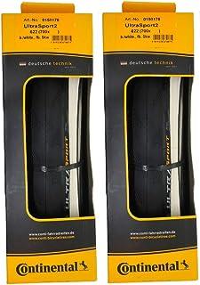 2本セット Continental(コンチネンタル) UltraSport2 ウルトラスポーツ2 700c クリンチャー [並行輸入品]