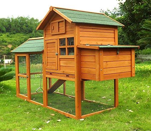 Zoopplier Hühnerstall Hühnerhaus Geflügelstall Nr. 06