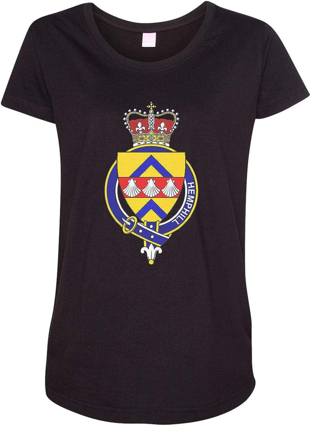 HARD EDGE DESIGN Women's Scottish Garter Family Hemphill T-Shirt