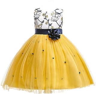 2-10T Kids Flower Girl Dress Teen Girls Pageant Party Communion Dresses