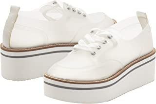 Jessica Simpson womens Giera Oxford Flat, Clear, 5.5 US